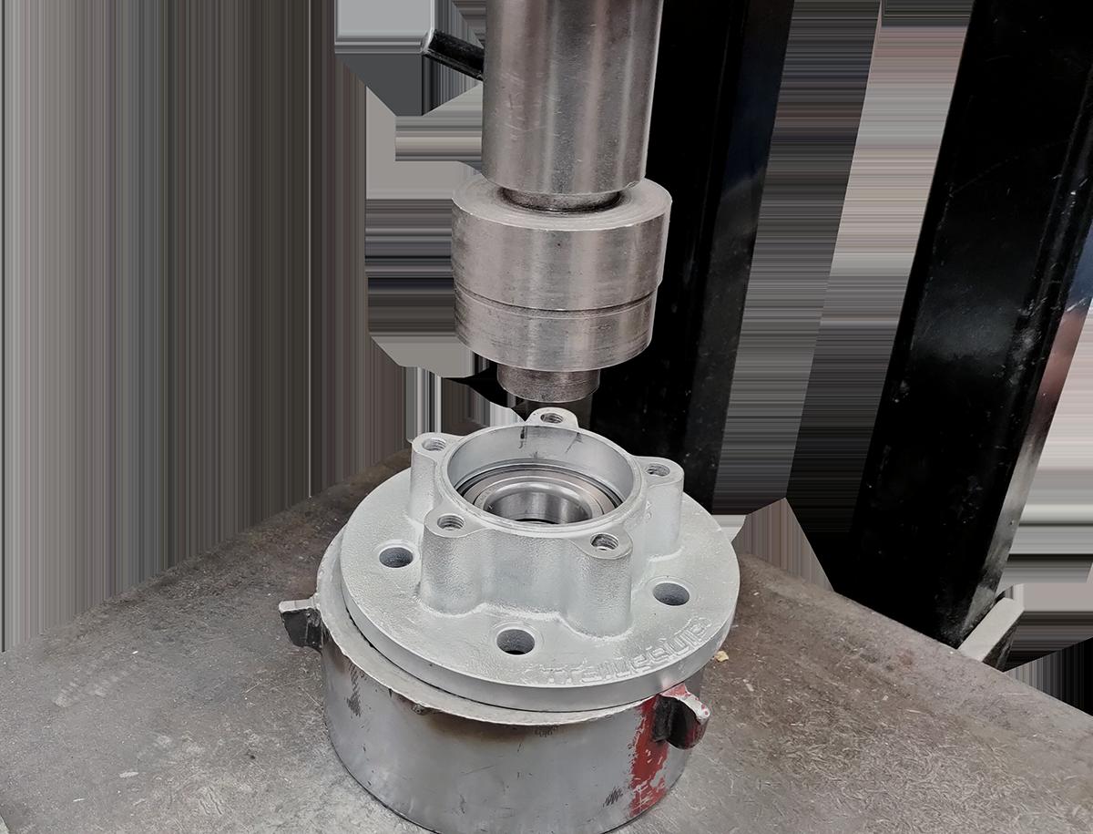 unitary bearing press