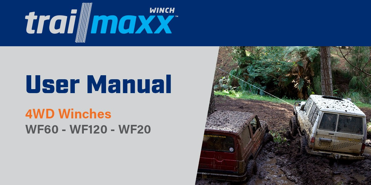 4WD Winch Instructions