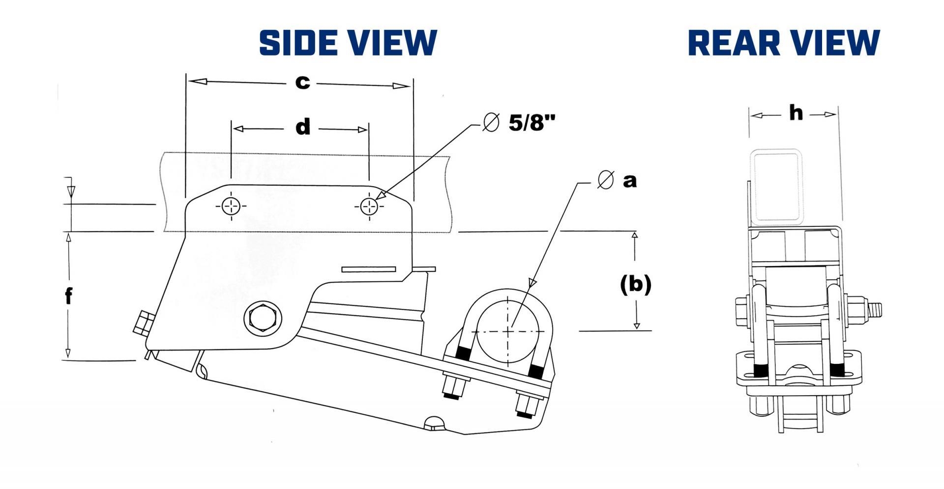 Timbren Single Axle Sizes