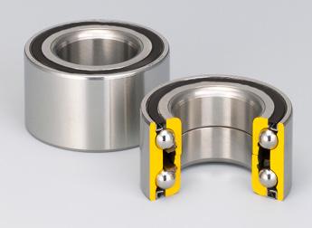 unitary ball bearing